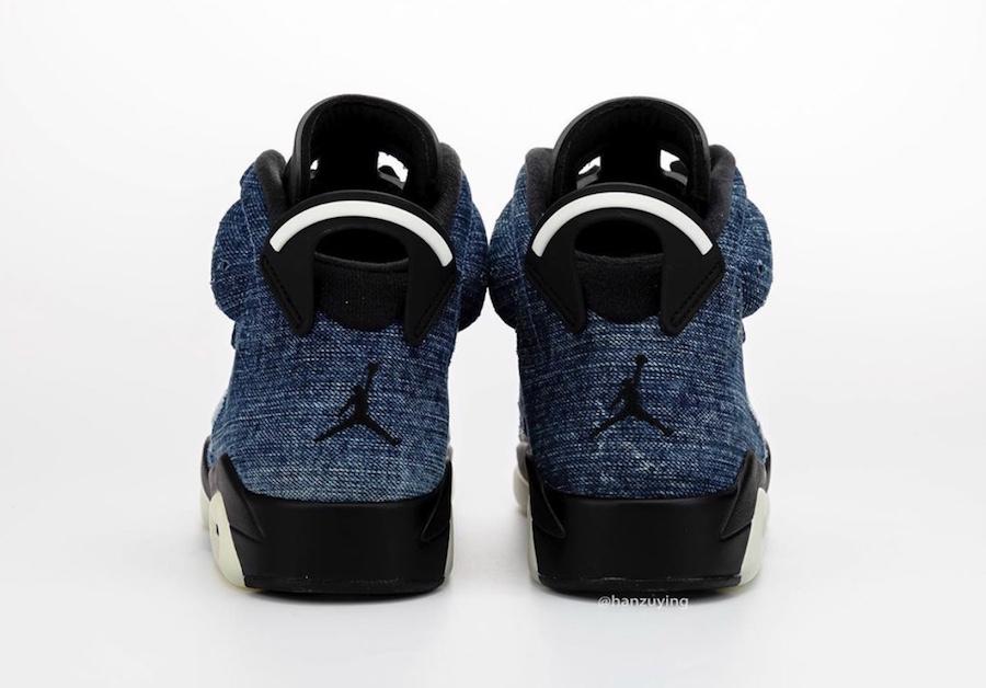 Air Jordan 6 Washed Denim CT5350-401 Release Date