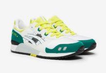 Asics Gel Lyte III OG White Yellow Green Release Date Info