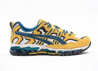 Asics Gel Nandi 360 Yellow Cream Mako Blue Release Date Info