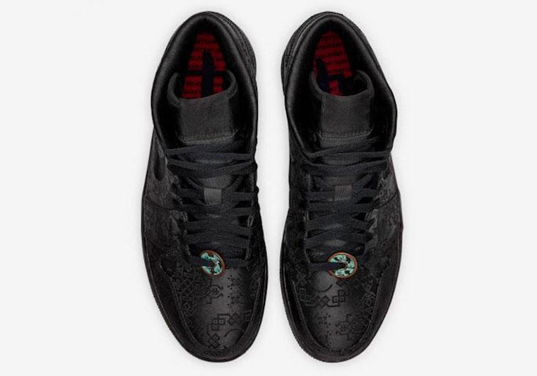 CLOT Air Jordan 1 Mid Black Release Date Info