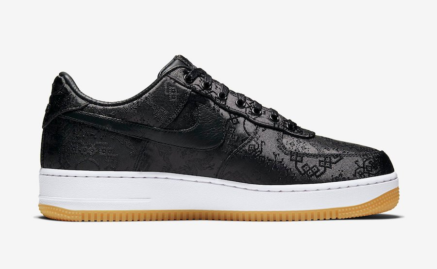 Clot Fragment Nike Air Force 1 CZ3986-001 2019 Release
