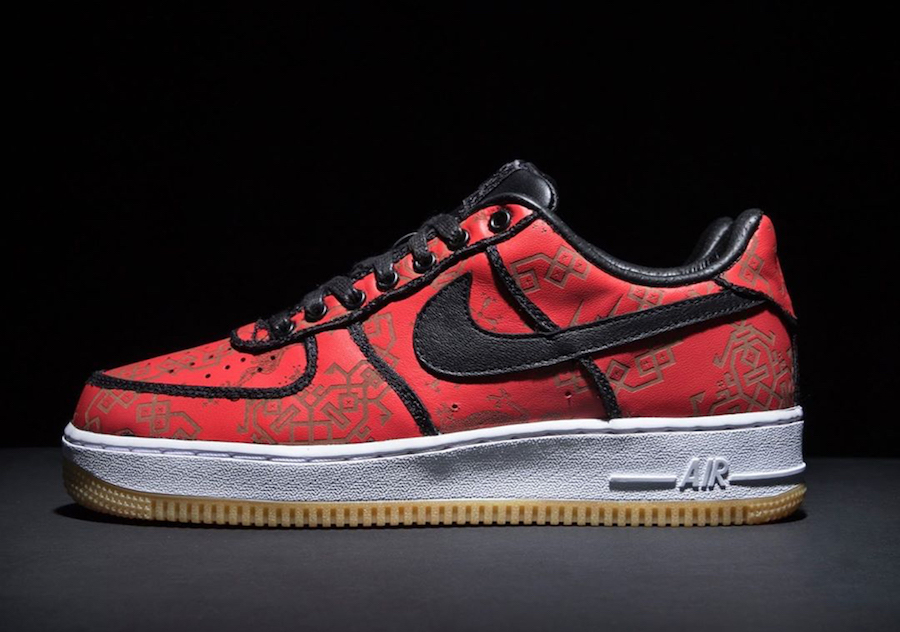 Clot Fragment Nike Air Force 1 CZ3986-001