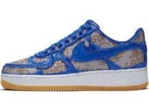 Clot Nike Air Force 1 Game Royal CJ5290-400 Release