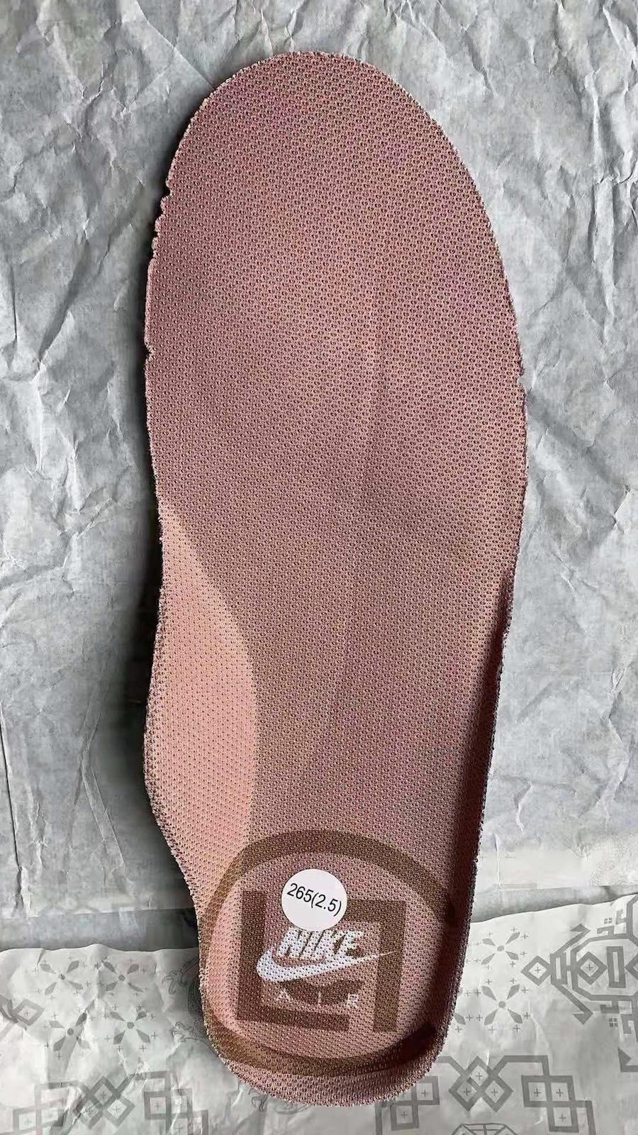 Clot Nike Air Force 1 Rose Gold CJ5290-600 Release Date Info