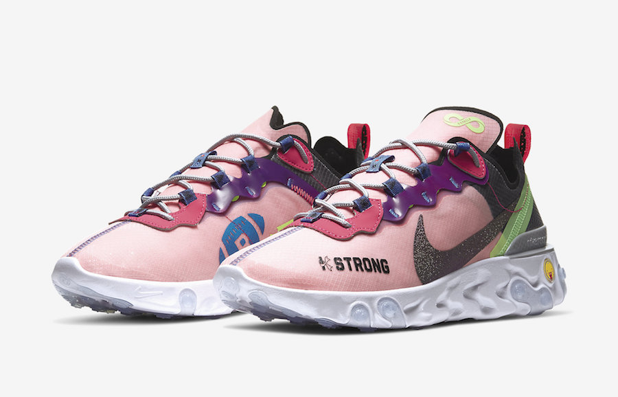 Kahleah Corona Nike React Element 55 Doernbecher CV2592-600 Release Date Info