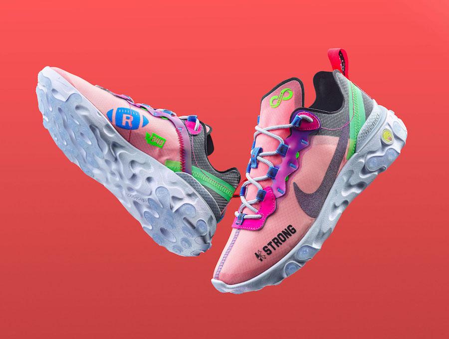 Kahleah Corona Nike React Element 55 Doernbecher Release Date Info
