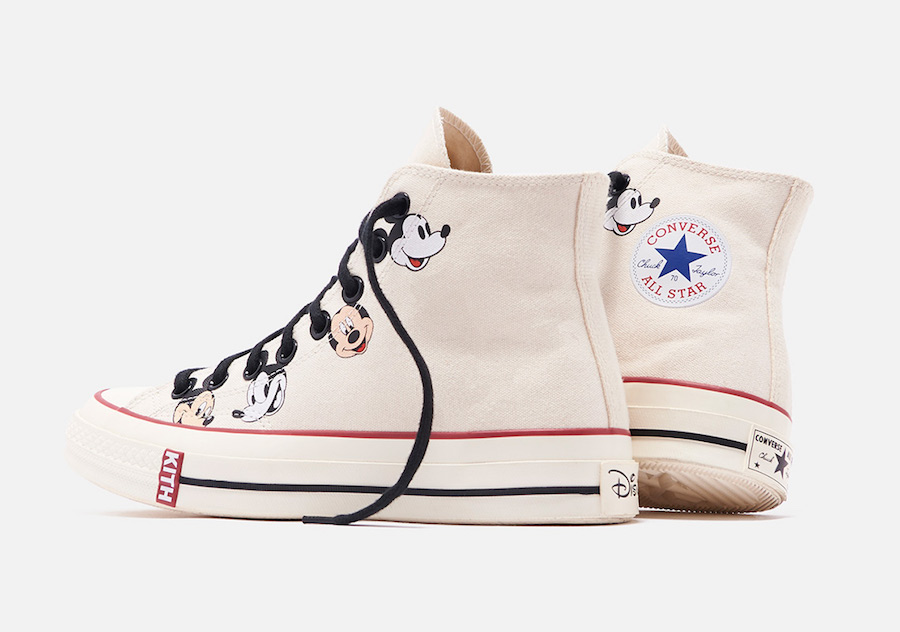 Kith Disney Converse Chuck 70 Mickey Mouse Release Date