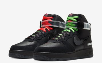 Lauren Halsey Nike Air Force 1 High CU3052-001 Release Date Info