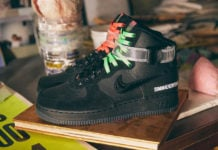 Lauren Halsey Nike Air Force 1 High Los Angeles CU3052-001 Release Date