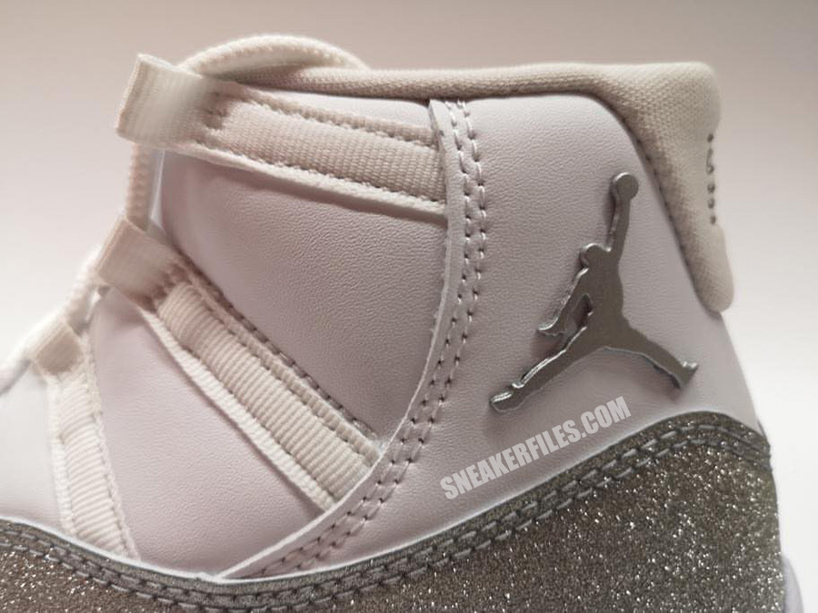 Metallic Silver Air Jordan 11 WMNS AR0715-100