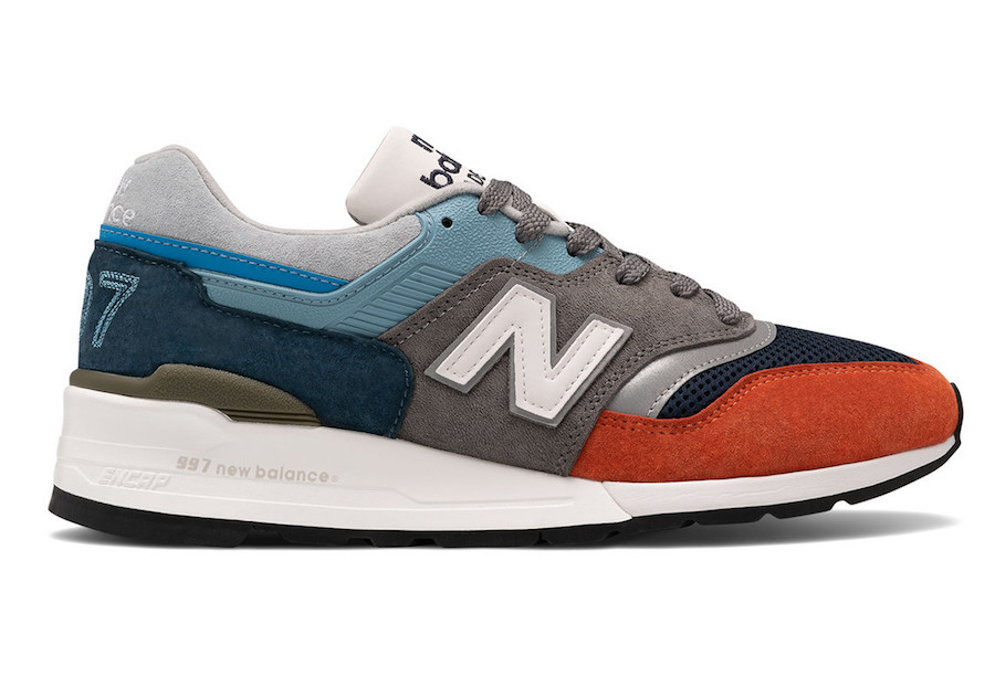 New Balance 997 Orange Blue Grey Release Date Info