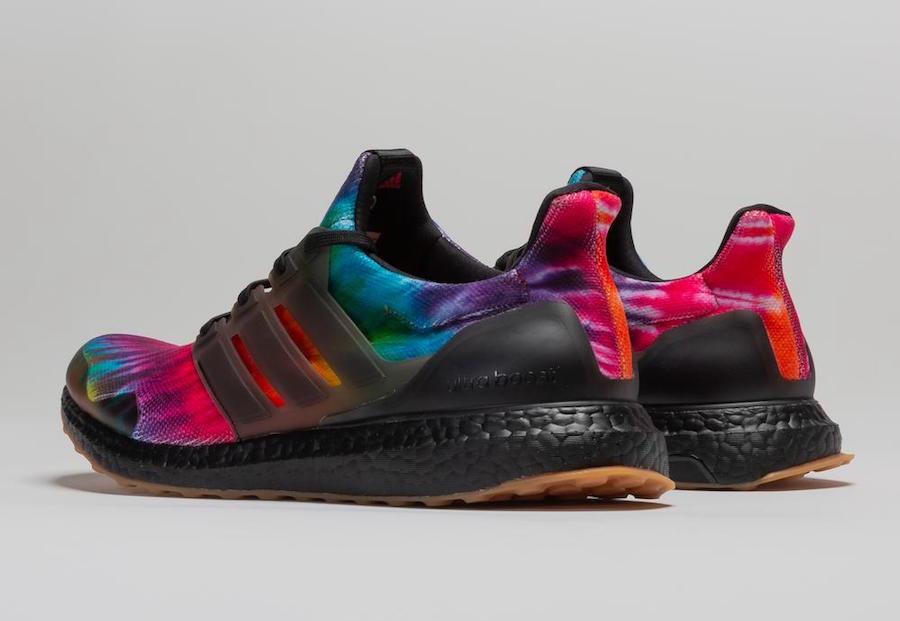 Nice Kicks adidas Ultra Boost Woodstock Black Tie-Dye FU9164 Release Date Info