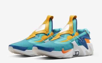 Nike Adapt Huarache Hyper Jade Total Orange BV6397-300 Release Date Info