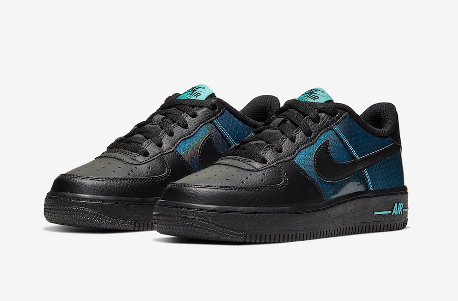 Nike Air Force 1 Dragon Scales CI3910-001 Release Date Info
