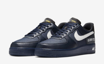 Nike Air Force 1 Gore-Tex Navy CK2630-400 Release Date Info