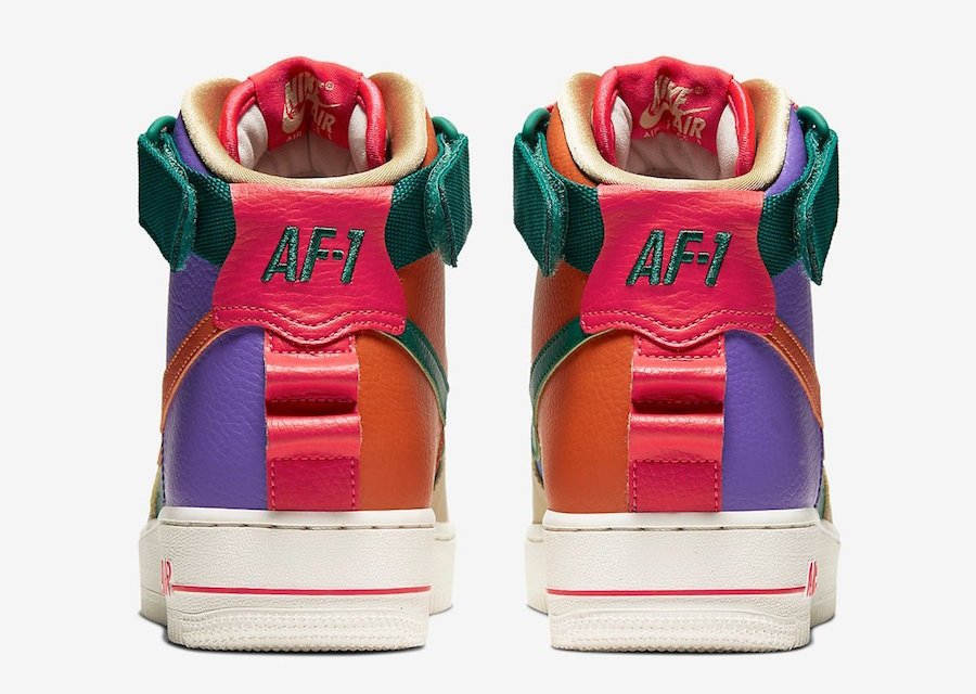 Nike Air Force 1 High Utility Force is Female CQ4810-046 Release Date Info