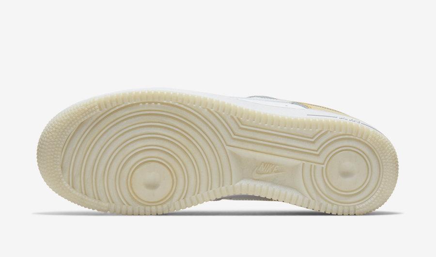 Nike Air Force 1 Metal Gold CU2991-197 Release Date Info