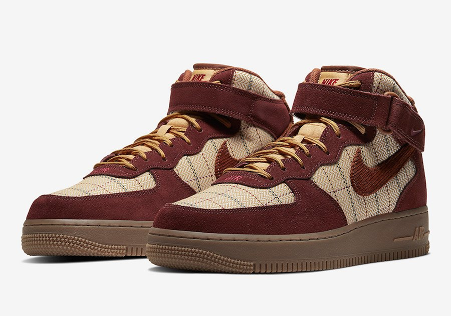 Nike Air Force 1 Mid Bronze Eclipse CT1206-900 Release Date Info