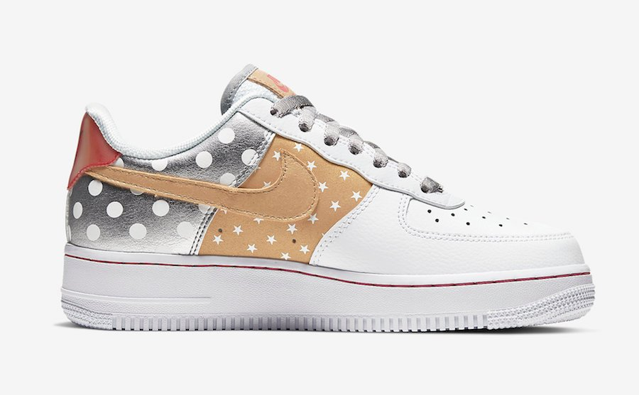Nike Air Force 1 Stars CT3437-100 Release Date Info