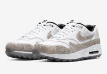 Nike Air Max 1 Golf NRG Snakeskin CI6876-101 Release Date Info