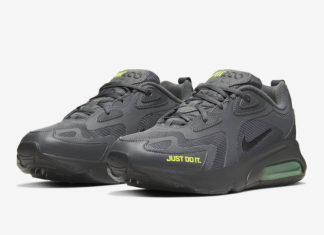 Nike Air Max 200 Dark Grey Volt CT2539-001 Release Date Info