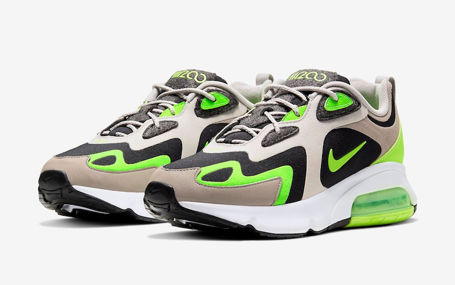 Nike Air Max 200 Stone Brown Electronic Green CQ4599-041 Release Date Info