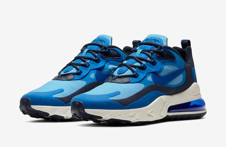 Nike Air Max 270 React Releasing in Shades of Blue