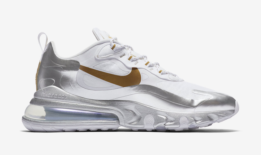 Nike Air Max 270 React City of Speed CQ4597-110 Release Date Info