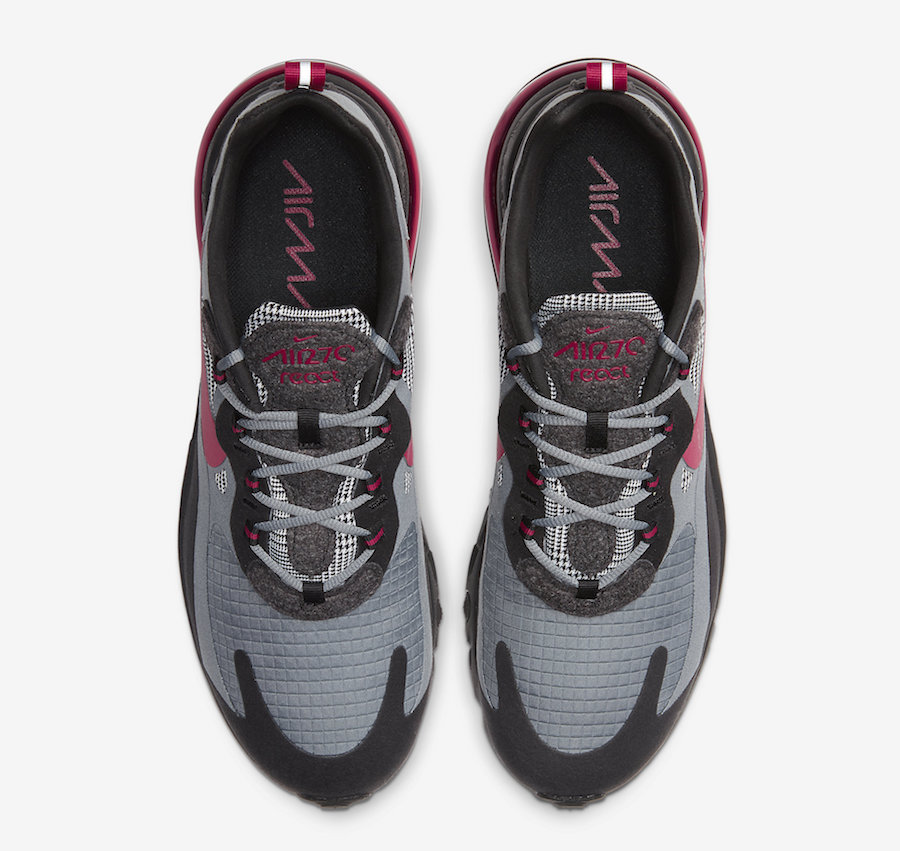 Nike Air Max 270 React Houndstooth CT3135-001 Release Date Info