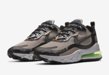 Nike Air Max 270 React Winter Khaki CD2049-200 Release Date Info
