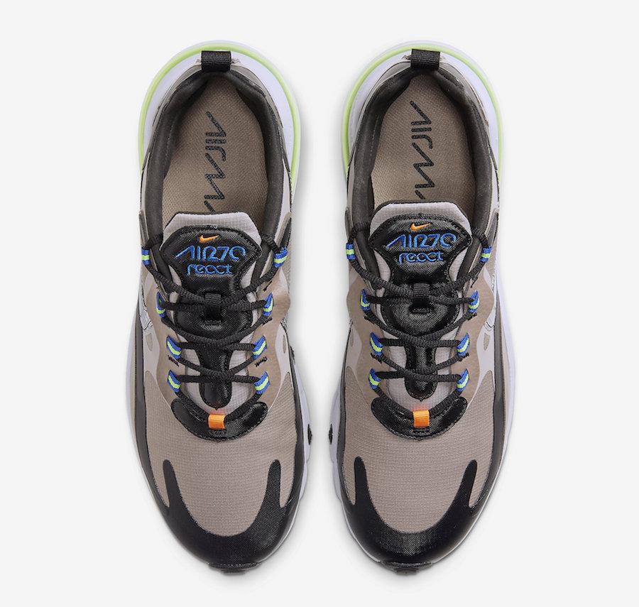 Nike Air Max 270 React Winter Khaki CD2049-200 Release Date Info