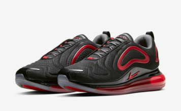 Nike Air Max 720 Black Red CN9833-001 Release Date Info
