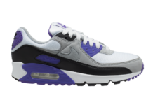 Nike Air Max 90 OG White Purple Grey Black CD0490-103 Release Date Info