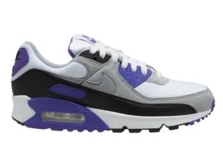 Nike Air Max 90 OG White Purple Grey Black CD0490-103 Release Date Info