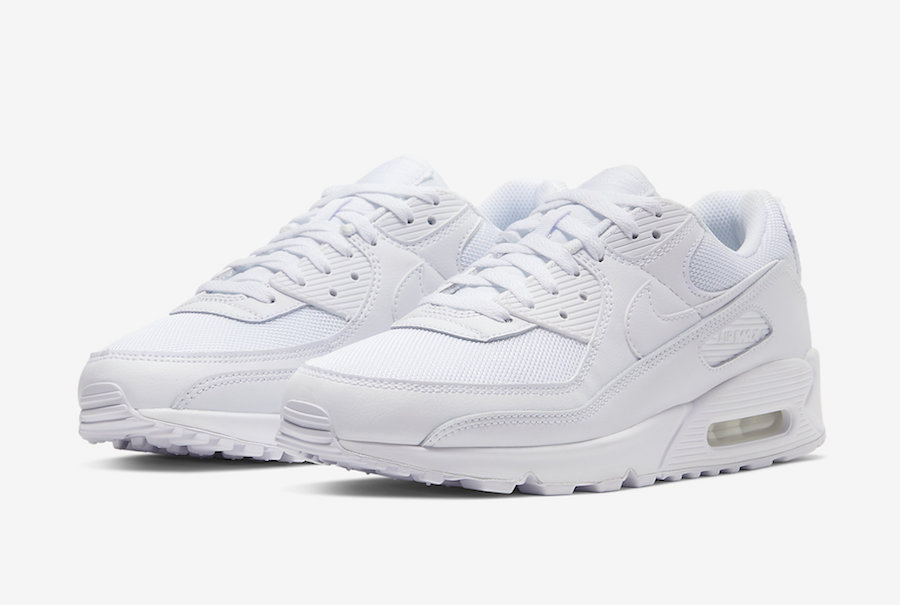 Nike Air Max 90 White CN8490-100 Release Date Info