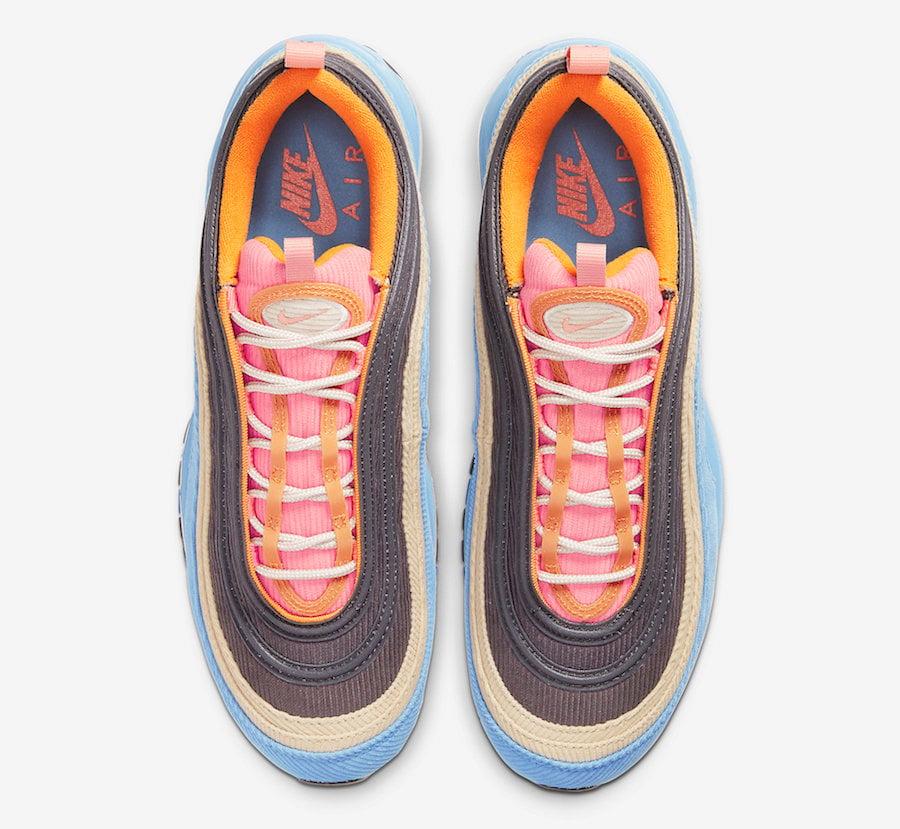 Nike Air Max 97 Corduroy CQ7512-462 Release Date Info