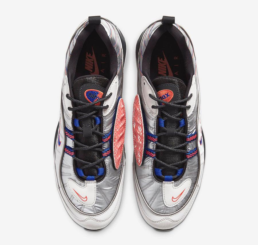 Nike Air Max 98 NRG Vast Grey Hyper Blue BQ5613-001 Release Date Info