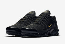 Nike Air Max Plus Black Gold CU3454-001 Release Date Info