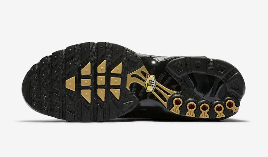 Nike Air Max Plus Black Gold CU3454-001 Release Date Info