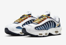 Nike Air Max Tailwind 4 IV White Blue Yellow CK2600-100 Release Date Info