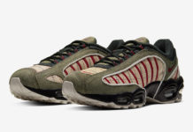 Nike Air Max Tailwind 4 Olive Burgundy CT1197-001 Release Date Info