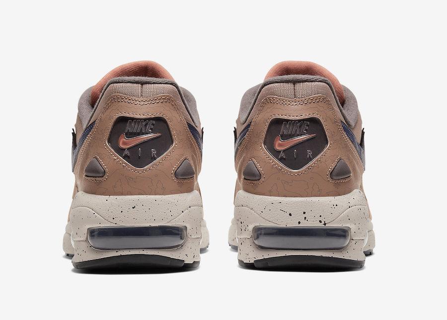 Nike Air Max2 Light LX Desert Dust Dusty Peach CJ9997-201 Release Date Info