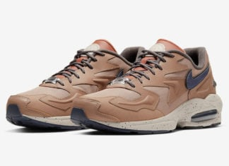 Nike Air Max2 Light LX Desert Dust Dusty Peach CJ9997-201 Release Date Info