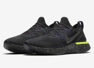 Nike Epic React Flyknit 2 Black Sequoia CI6443-001 Release Date Info
