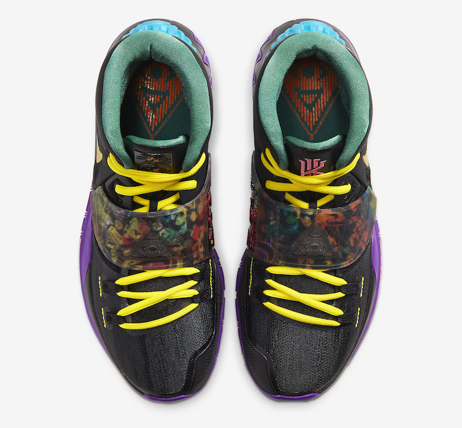 Nike Kyrie 6 Chinese New Year CD5029-001 Release Date