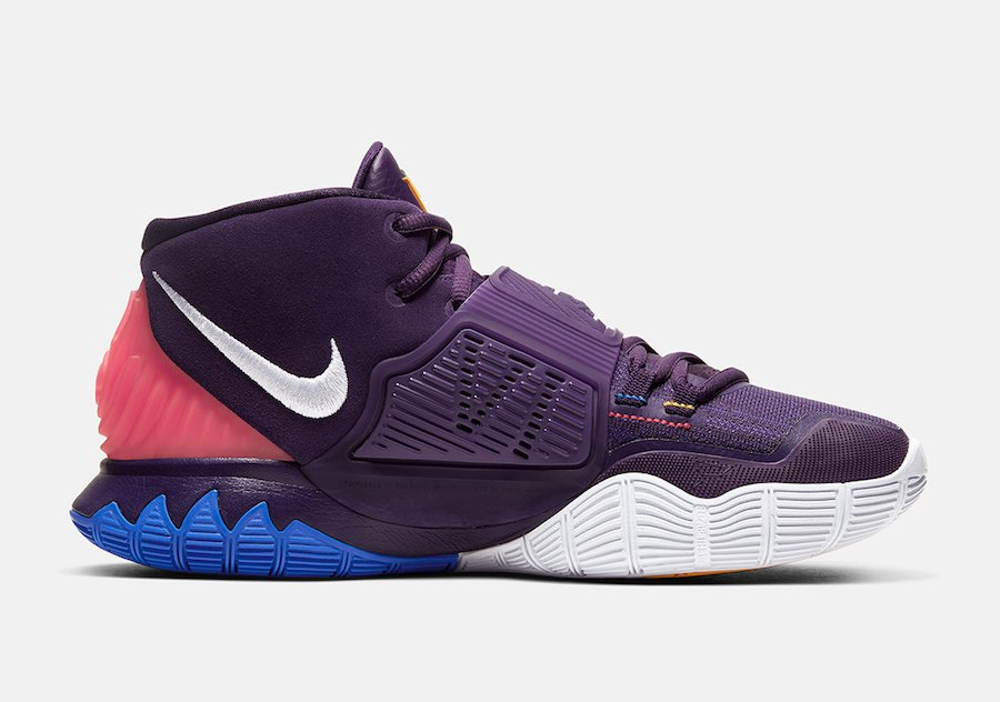 Nike Kyrie 6 Enlightenment Grand Purple BQ4630-500 Release Date