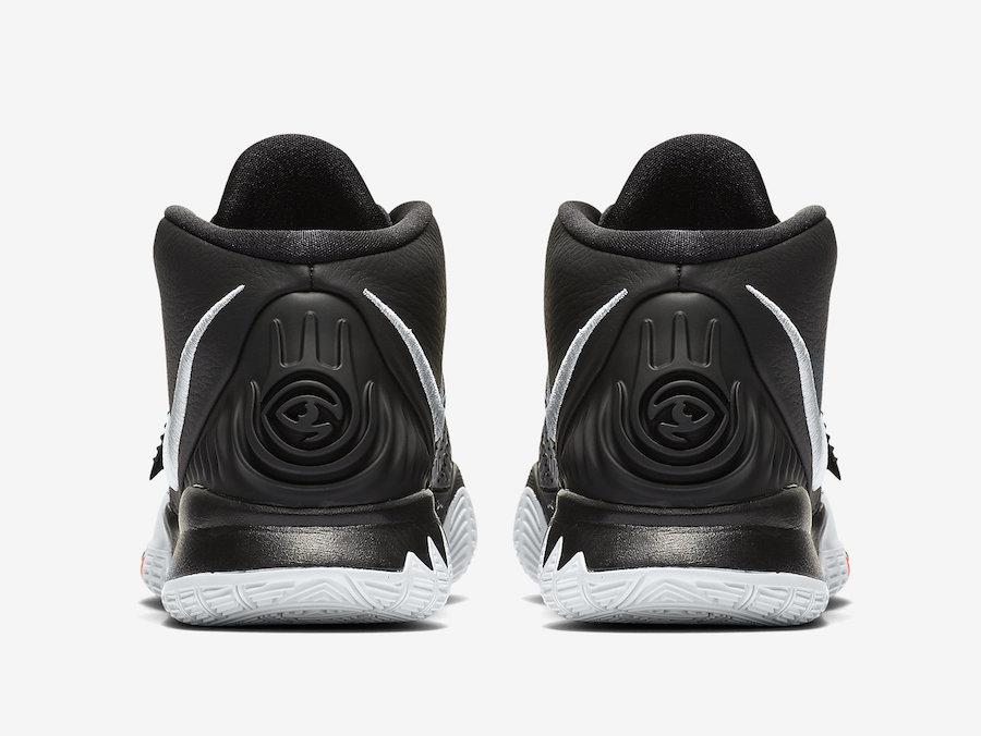 Nike Kyrie 6 Jet Black BQ4630-001 Release Date Info