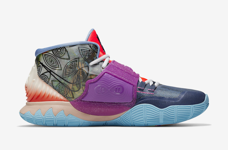 Nike Kyrie 6 Pre-Heat Heal The World CN9839-403 Release
