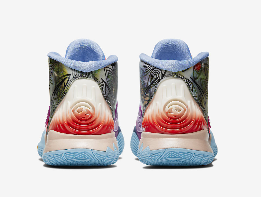 Nike Kyrie 6 Pre-Heat Heal The World CN9839-403 Release Date