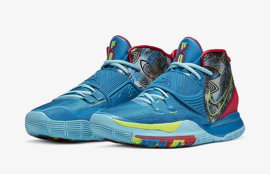 Nike Kyrie 6 Pre-Heat NYC CN9839-401 Release